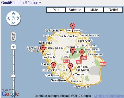 GestiBase la Réunion