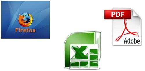 GestiBase : logos des logiciels utilisés